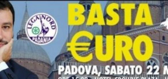 Lega Nord Padova. Euro:come uscire dall'incubo