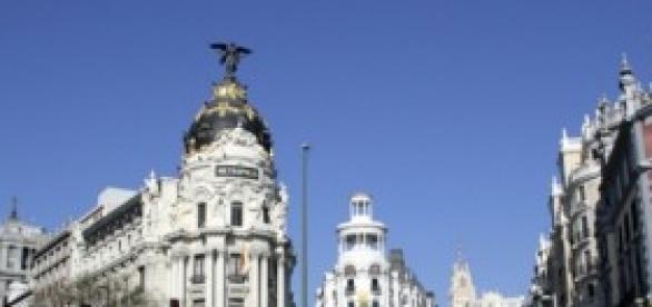 Calle de Alcalà en Madrid