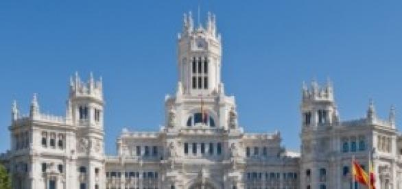 Madrid, Espana - Palacio de Comunicaciones