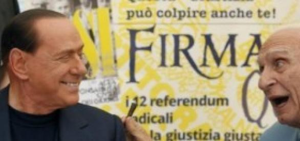 Indulto e amnistia 2014, Pannella e Berlusconi