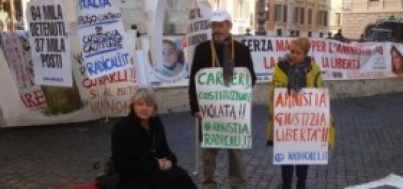 Indulto e amnistia 2014, sciopero fame Radicali