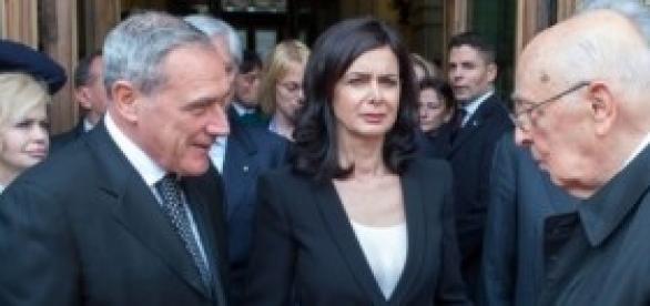 Indulto e amnistia, Napolitano, Grasso, Boldrini