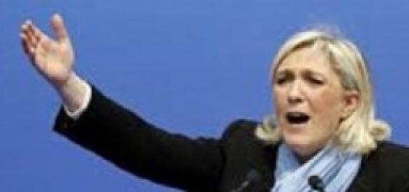 Marine Le Pen Presidente del Fronte Nazionale