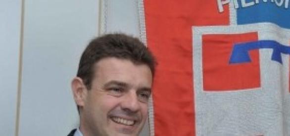 Il governatore del Piemonte, Roberto Cota