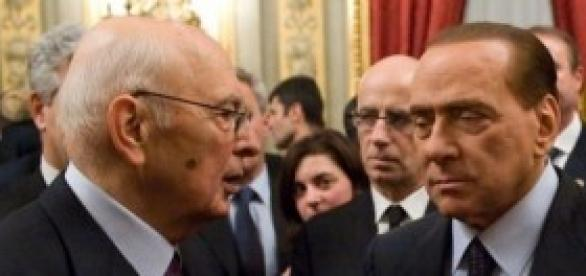 Indulto e amnistia 2014, Berlusconi e Napolitano