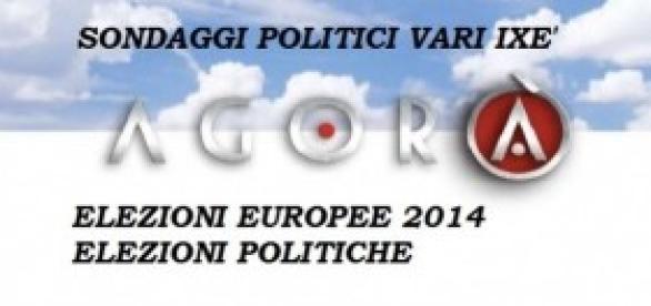 Due Sondaggi Agorà-Ixè, Europee 2014 e Politiche