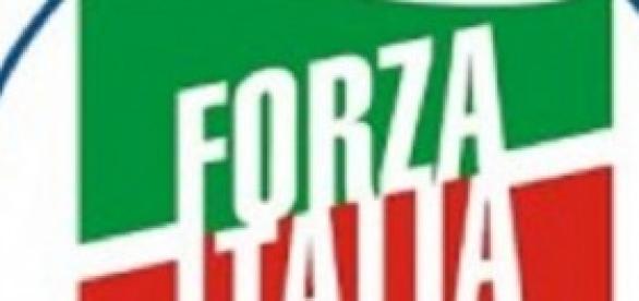 Il logo di Forza Italia per le europee