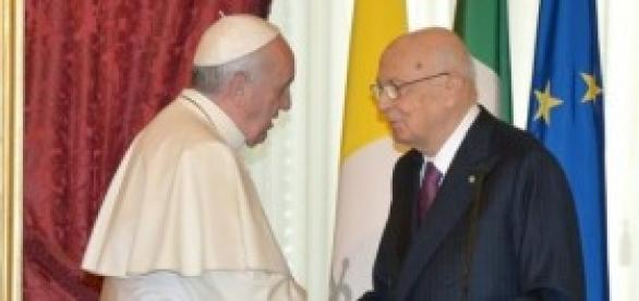 Amnistia e indulto, Napolitano e Papa Francesco