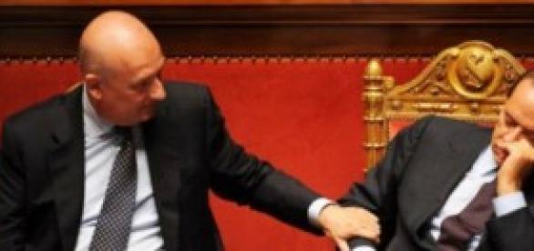 Bondi e Berlusconi quando erano al Governo