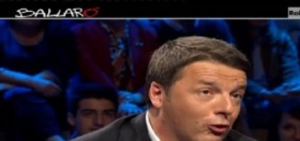 Intervista a Renzi: Ballarò del 13/05/2014