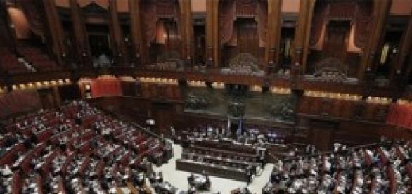 La Camera di Montecitorio