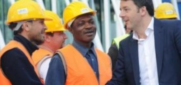 Renzi a Milano per salvare l'Expo 2015