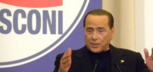 Berlusconi show a Roma - FOTO MIA