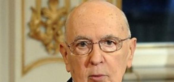 Giorgio Napolitano, presidente della Repubblica