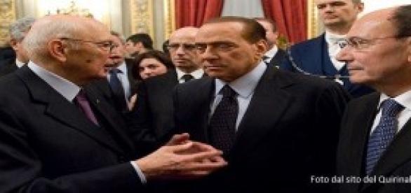 Silvio Berlusconi, è scontro con Napolitano