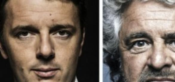 Duello in vista tra Renzi e Grillo
