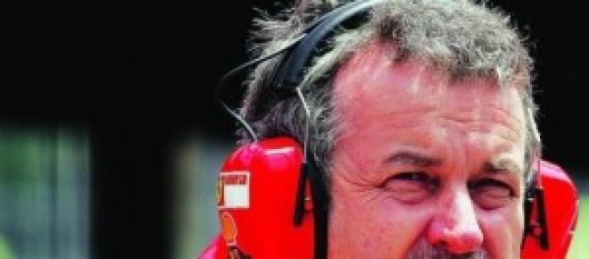 Nigel ai tempi della Ferrari