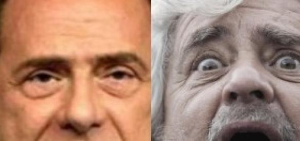 Berlusconi attacca Grillo senza freni.
