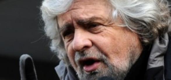 Beppe Grillo oggi 23 maggio in diretta da Roma