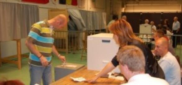 I selfie in cabina elettorale