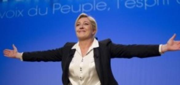 Marine Le Pen, Front National.