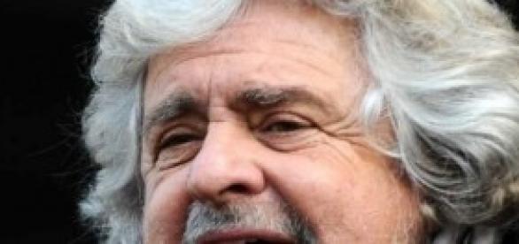 Il leader del Movimento 5 stelle Beppe Grillo