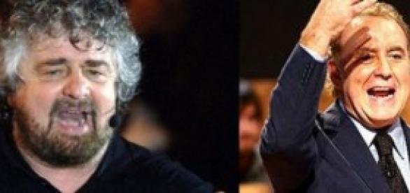 Santoro attacca Grillo basta insulti