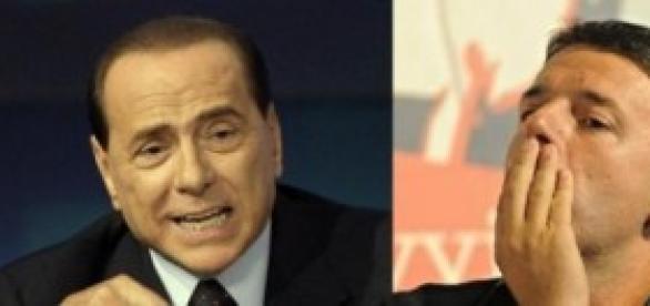 Berlusconi e l'alleanza forzata con Renzi