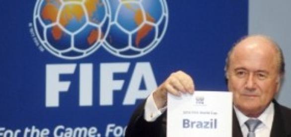Joseph Blatter, Mundial Brazil 2014