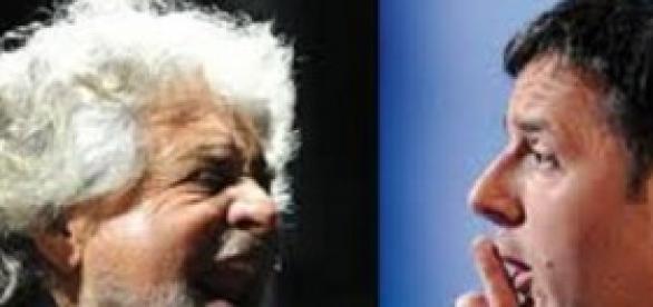 Grillo e Renzi, nuovo streaming sulle riforme