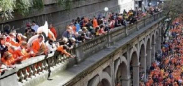 Holandeses Fazem a Festa na Borges em Porto Alegre