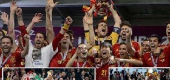 Los campeones del mundo y Europa (x2).