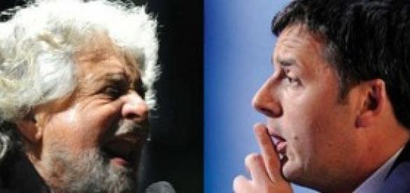 Beppe Grillo furioso contro PD e Renzi