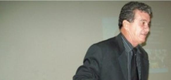 Tarcísio Neves, em palestra motivacional