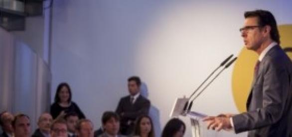 El Ministro de Industria José Manuel Soria
