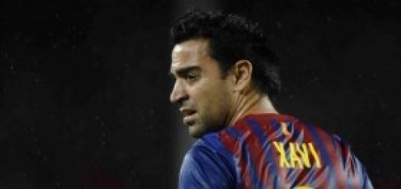 Xavi Hernández, jugador y capitán del FC Barcelona