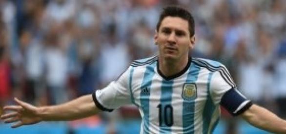 Messi celebrando un gol. Foto: CNN