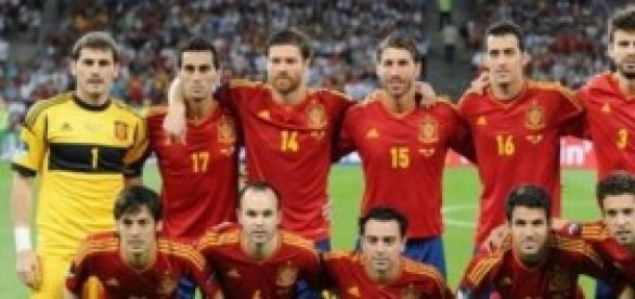 Selección española en 2012