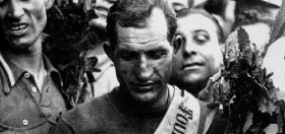 Bartali, victorioso en el Tour de Francia de 1948
