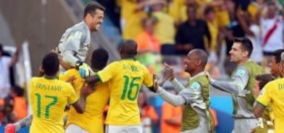 Brasil celebra la victoria. Foto: Mundo Deportivo