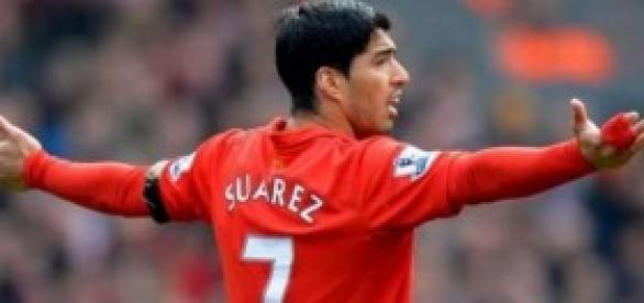 El futbolista Luis Suárez