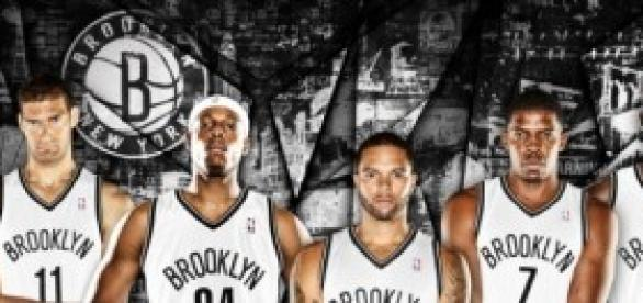 Quinteto de los Brooklyn Nets