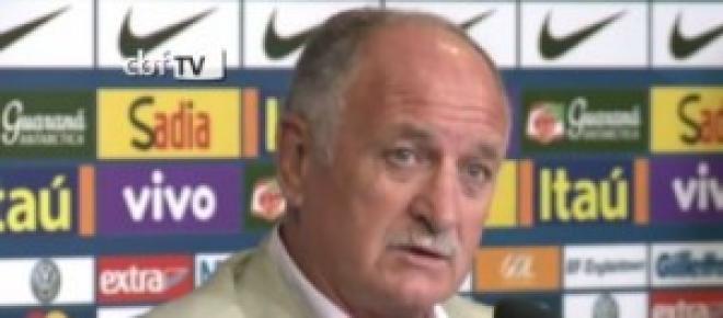 Felipe Scolari -  treinador do Brasil