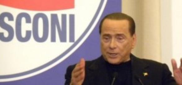 Silvio Berlusconi - foto privata