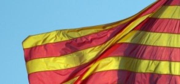 Esta es la bandera catalana