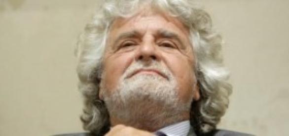 Beppe Grillo, fondatore del M5S.