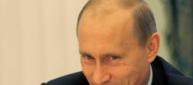 La Sonrisa de Putin, presidente ruso