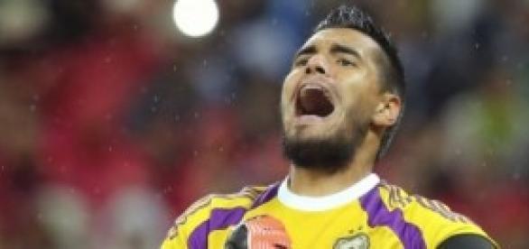 El guardameta Sergio Romero héroe del partido