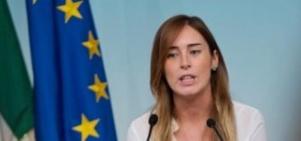 Maria Elena Boschi(Pd), ministro per le Riforme