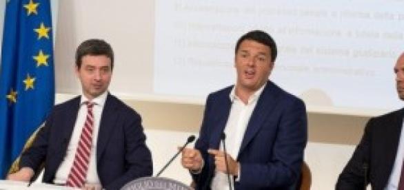 Amnistia e indulto: Renzi, Orlando e Alfano